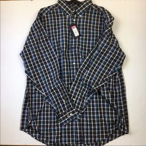 NEW Roundtree & Yorke Men's  Button Up